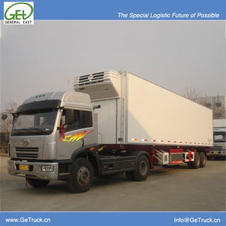 9182XLC-40 feet 2 axles Koegel FRP+PU+FRP composite Insuated and Refrigerated semi-trailer