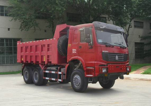 336hp Howo Dump Tipper Truck with full drive of 6*6-ZZ3257N3857A