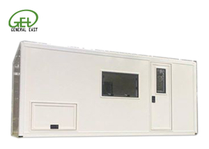 Fast Assembly FRP Camping Box Van , XPS Insulated Sandwich Composite Panel Kits And Box with GRP Profiles