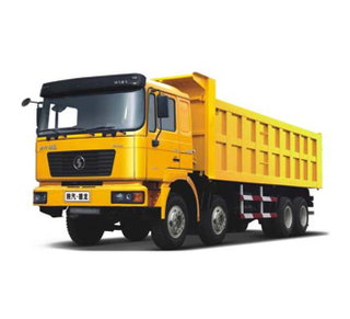 SHACMAN Dump Truck 8x4 LHD 290HP Engine