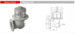 Bottom Valves-Emergency Valves-GET C804AQ-100