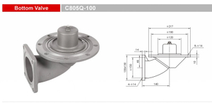 Bottom Valves-Emergency Valves-GET C805Q-100