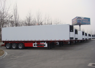 45ft 3 Axles Refrigerated Semi Trailer with Carrier Refrigerator Units for Freezing And Fresh Cargos,Refrigerator Trailers
