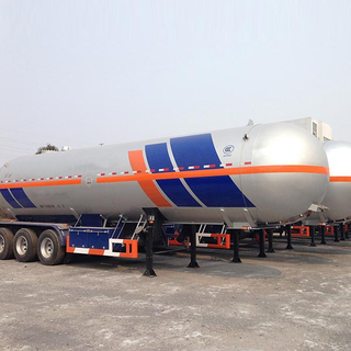 47000L 3 axles Liquefied Petroleum Gas Lorry Tank Semi Trailer for Liquid Dimethyl Ether and Methylamine
