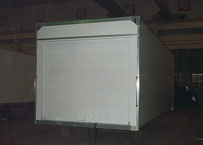 Aircraft Food Supply Insulated Truck Box with All - Closed FRP / GRP Sealed Sandwich Panel Kits, Insulated Truck Box