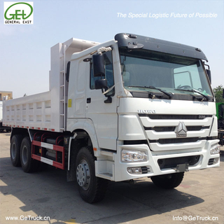 ZZ3257N3247B-SINOTRUK HOWO Tipper Truck with 336 HP Engine and 18cbm Rear Hydraulic Box
