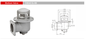 Bottom Valves-Emergency Valves-GET C804CQ-80