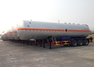 56000L Liquefied Petroleum Gas Lorry Tanker Trailer with 3 Axles for LPG,LPG Tanker Semi Trailer