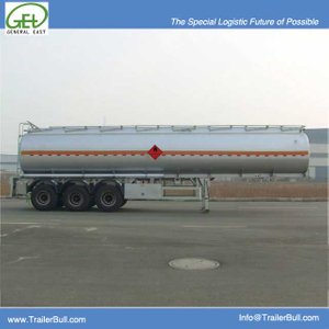 45cbm 3 Axles Carbon Steel Tanker Semi Trailer,High Quality Carbon Steel Tanker Trailer