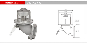 Bottom Valves-Emergency Valves-GET C804AS-100