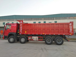 SINOTRUCK HOWO 8X4 TIPPER TRUCK MADE IN 2016