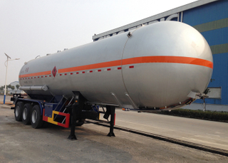 38000L LPG Lorry Tank Semi Trailer with 3 Axles for Liquid Chloroethylene,LPG Tanker Semi Trailer