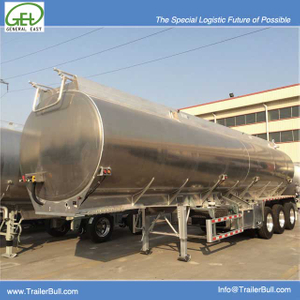 35000L Aluminum Tanker Semi-Trailer with 3 BPW Axles for Jet And Organic Chemical,High Quality JET Fuel Tanker Trailer