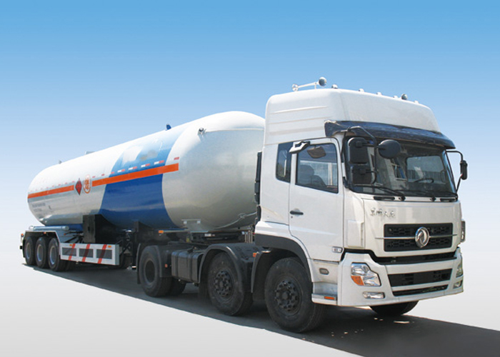 LPG Tanker Semi Trailer,47000L 3 Axles Liquefied Petroleum Gas Lorry Tanker Semi Trailer for Liquid Dimethyl Ether And Methylamine